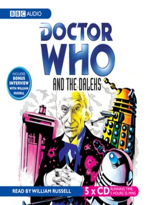 cover image of Doctor Who and the Daleks