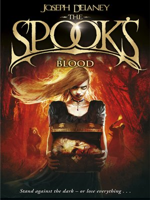 cover image of The Spook's Blood