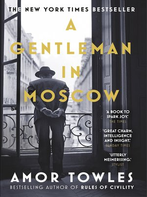 cover image of A Gentleman in Moscow
