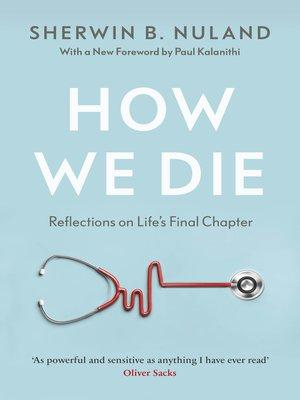cover image of How We Die