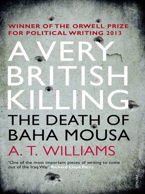 cover image of A Very British Killing