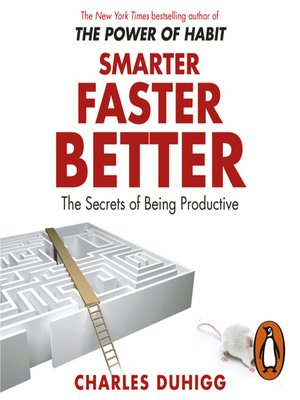 cover image of Smarter Faster Better