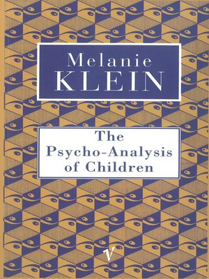 cover image of The Psycho-Analysis of Children