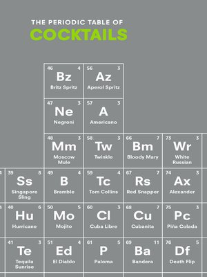 cover image of The Periodic Table of COCKTAILS