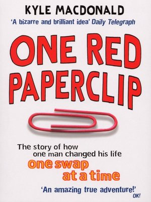 cover image of One Red Paperclip