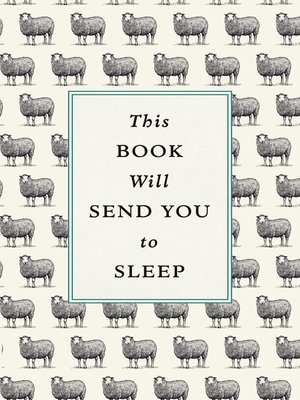 cover image of This Book Will Send You to Sleep
