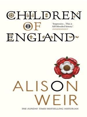 cover image of Children of England