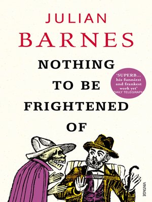 cover image of Nothing to Be Frightened Of