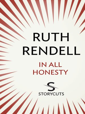cover image of In All Honesty