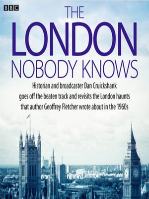cover image of The London Nobody Knows