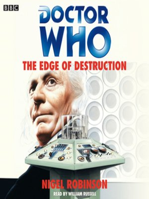 cover image of Doctor Who--The Edge of Destruction