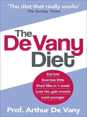 cover image of The De Vany Diet