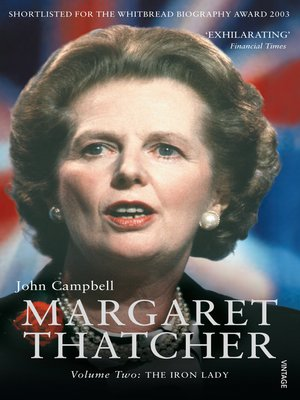 cover image of Margaret Thatcher Volume Two