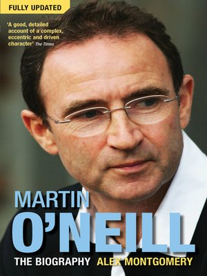 cover image of Martin O'Neill