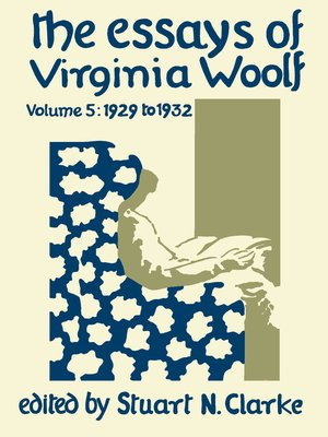 cover image of The Essays of Virginia Woolf, Volume 5