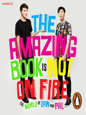 cover image of The Amazing Book is Not on Fire
