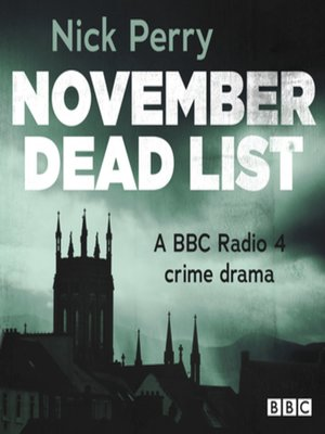 cover image of November Dead List