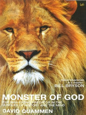 cover image of Monster of God