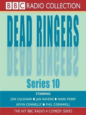 cover image of Dead Ringers, Series 10