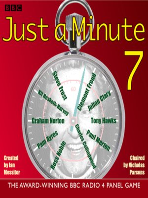 cover image of Just a Minute 7