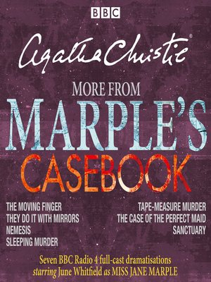 cover image of More from Marple's Casebook