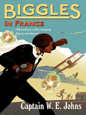 cover image of Biggles In France
