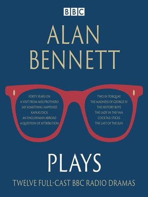 cover image of Alan Bennett, Plays