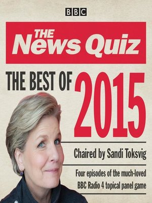 cover image of The News Quiz, Best of 2015