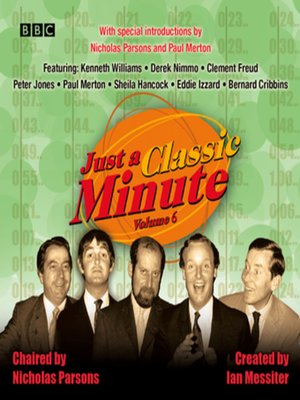 cover image of Just a Classic Minute, Volume 6