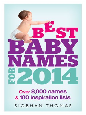 cover image of Best Baby Names for 2014