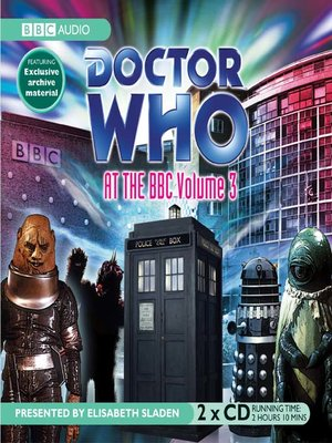 cover image of Doctor Who at the BBC