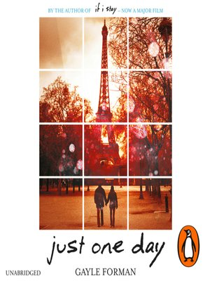 Just One Day Gayle Forman Ebook