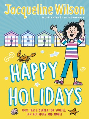 cover image of Jacqueline Wilson's Happy Holidays