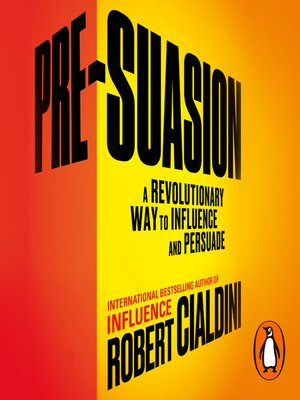 cover image of Pre-Suasion