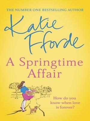 cover image of A Springtime Affair