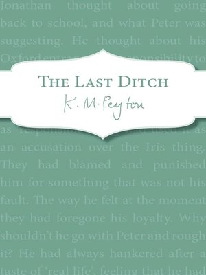 cover image of The Last Ditch