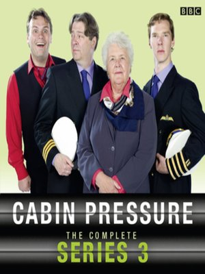 cover image of Cabin Pressure, Series 3