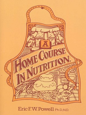 cover image of A Home Course in Nutrition