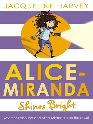cover image of Alice-Miranda Shines Bright