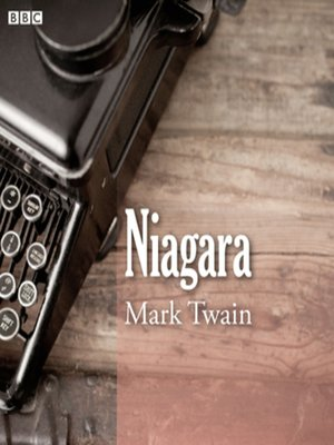 cover image of Mark Twain's Niagara