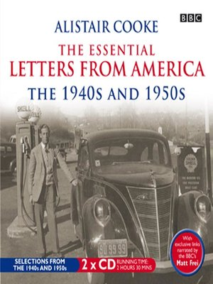 cover image of The Essential Letters from America