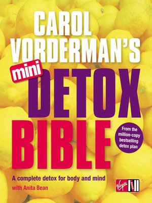 cover image of Carol Vorderman's Mini Detox Bible