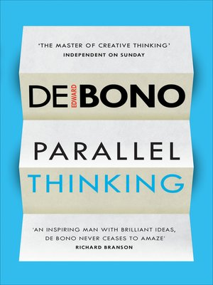 cover image of Parallel Thinking