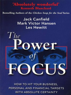 cover image of The Power of Focus
