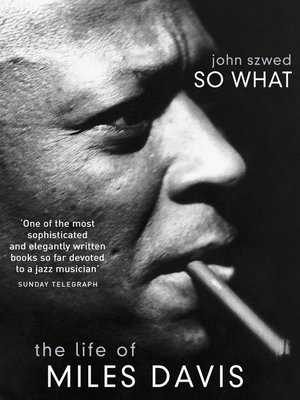 cover image of So What