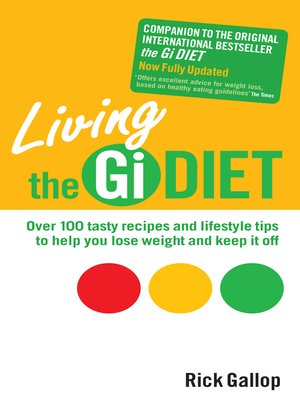 cover image of Living the GI Diet
