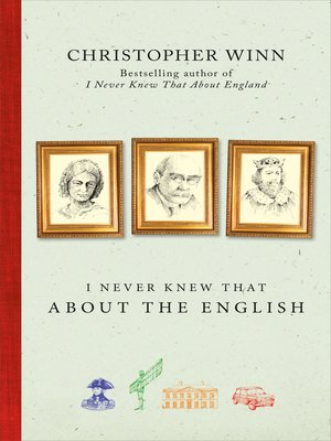 cover image of I Never Knew That About the English