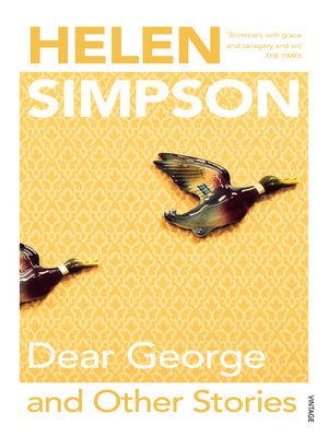cover image of Dear George and Other Stories