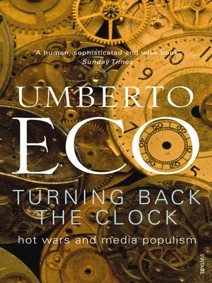 cover image of Turning Back the Clock