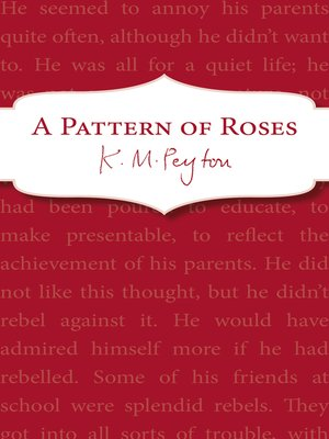 cover image of A Pattern of Roses